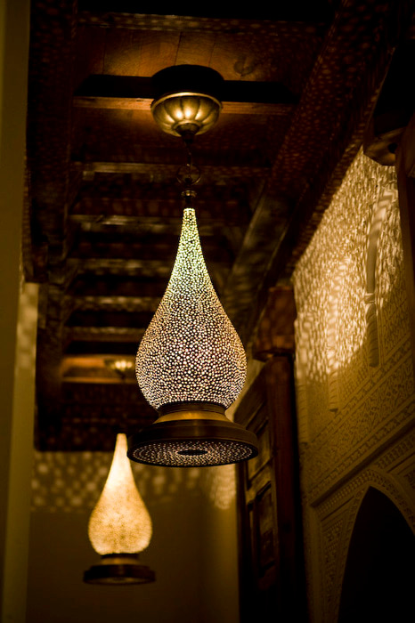 moroccan lighting