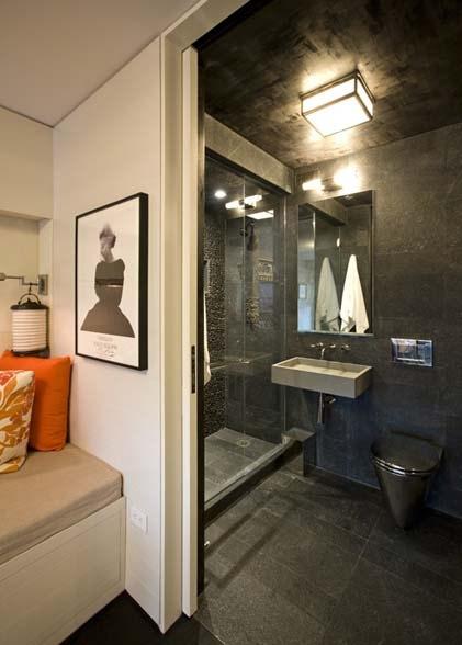 dark bathroom