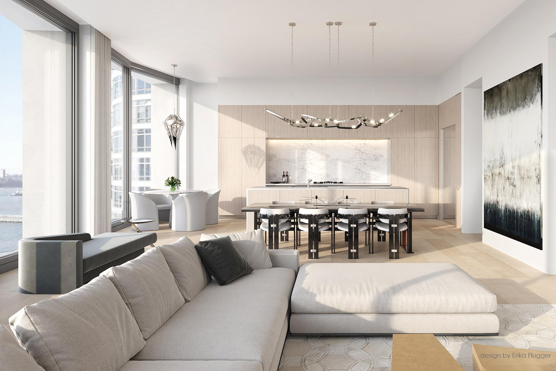 leroy penthouse interior design