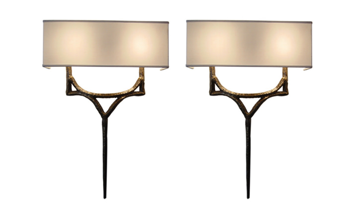 bronze wall sconces