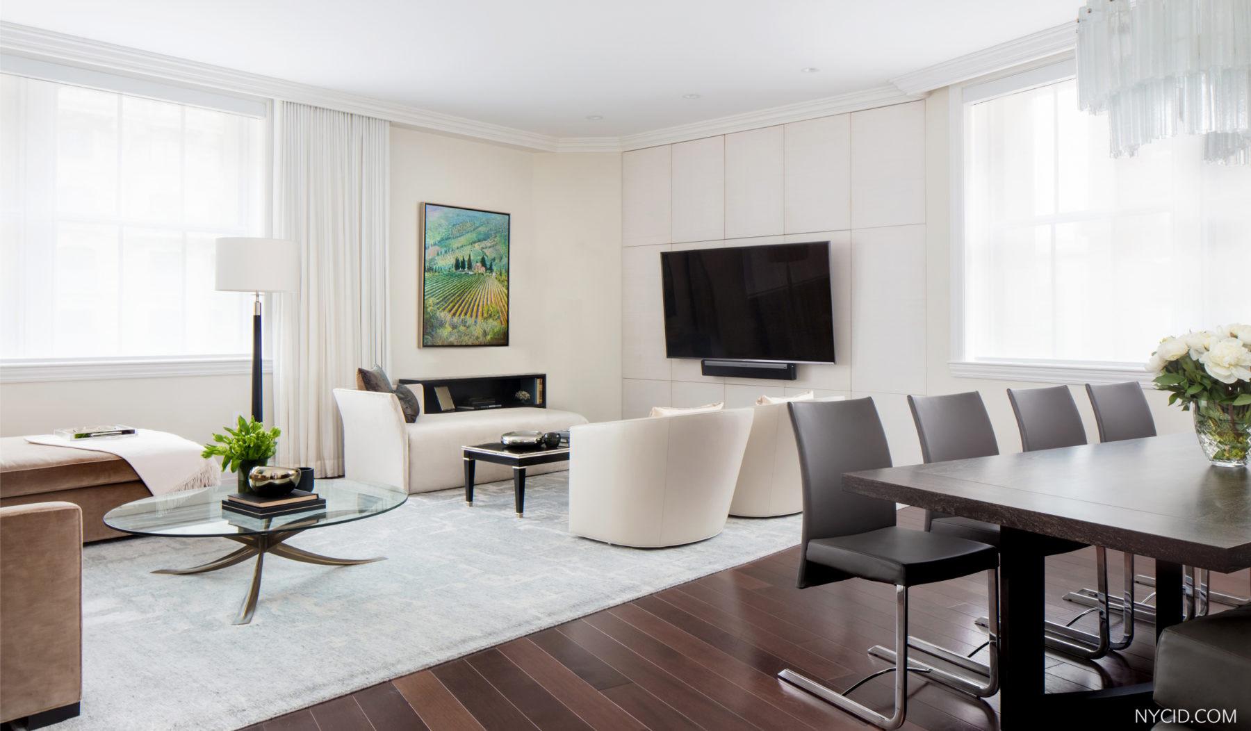 Upper West Side Landmark- Living Room 2