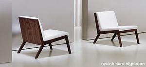 warm, modern restaurant chairs