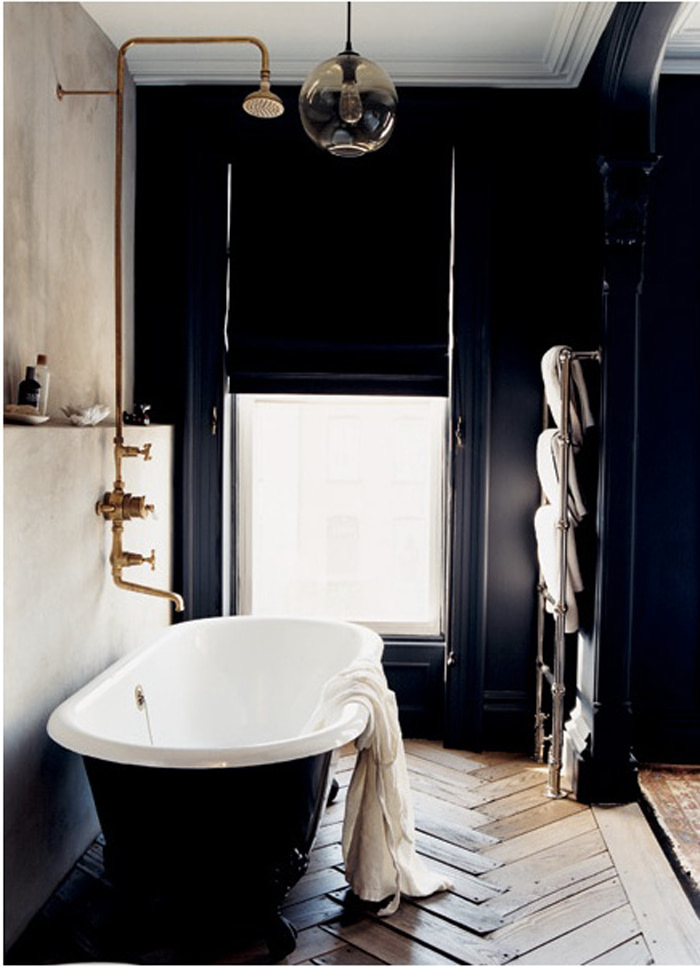 dark bathroom design 2