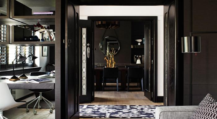 elegant dark interior 3