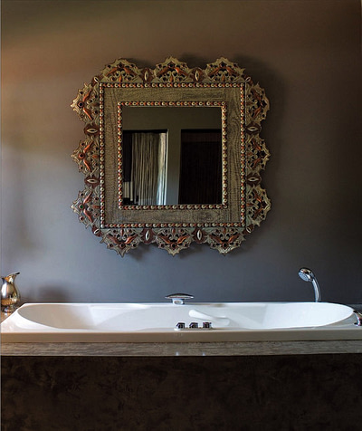 antiques in bathrooms