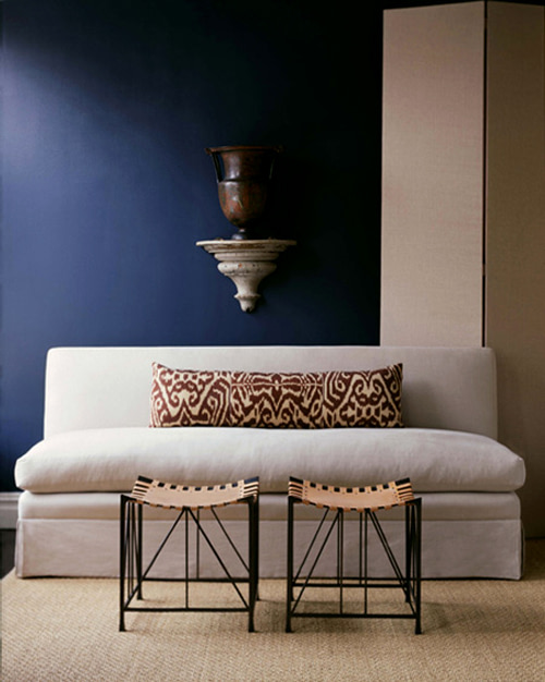 designing with ikat pillows