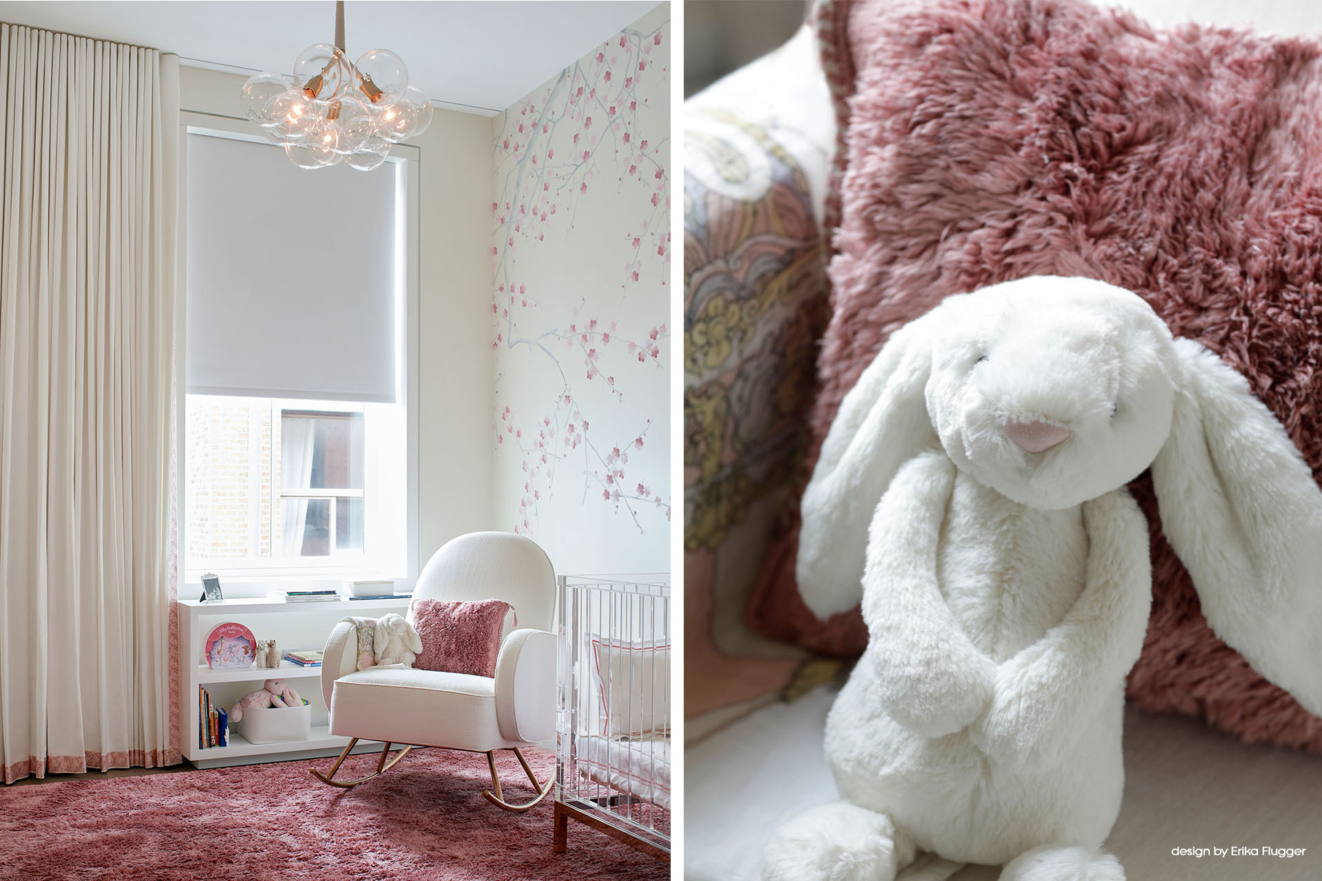 nyc interior design _tribeca penthouse_nursery_by Erika Flugger