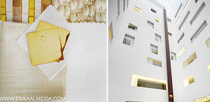 white & gold color palette