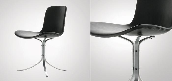 poul kjaerholm pk9 leather chair