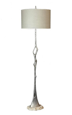 Floor Lamp and Wall Sconces
