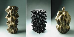 midcentury ceramic vases