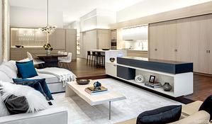 Soho Landmark Loft - Living Room