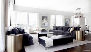 5th Ave Penthouse designed by Erika Flugger