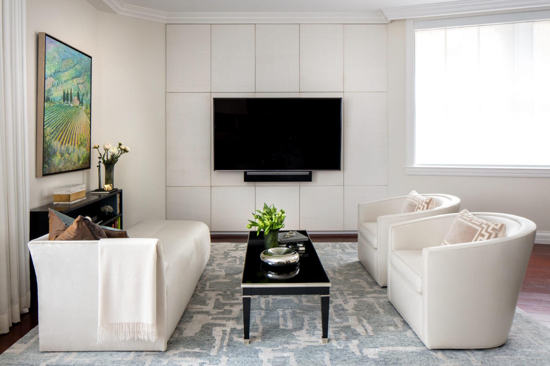 Upper West Side Landmark-Living Room interior design