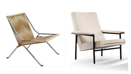 Selecting lounge chairs