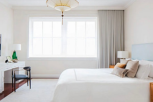 nyc interior design UWS master bedroom