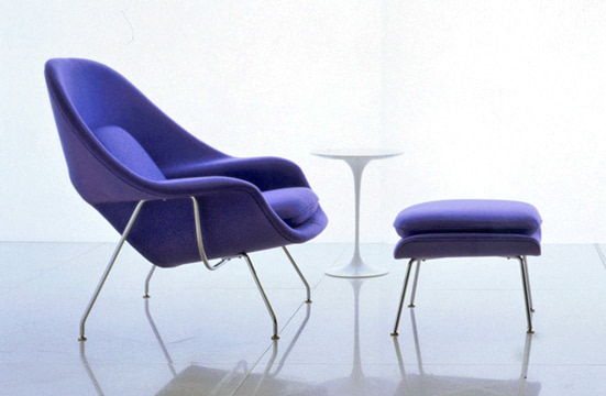 Eero Saarinen's Womb chair