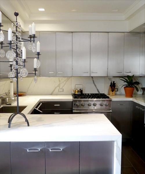 kitchen stainless steel kitchen cabinets