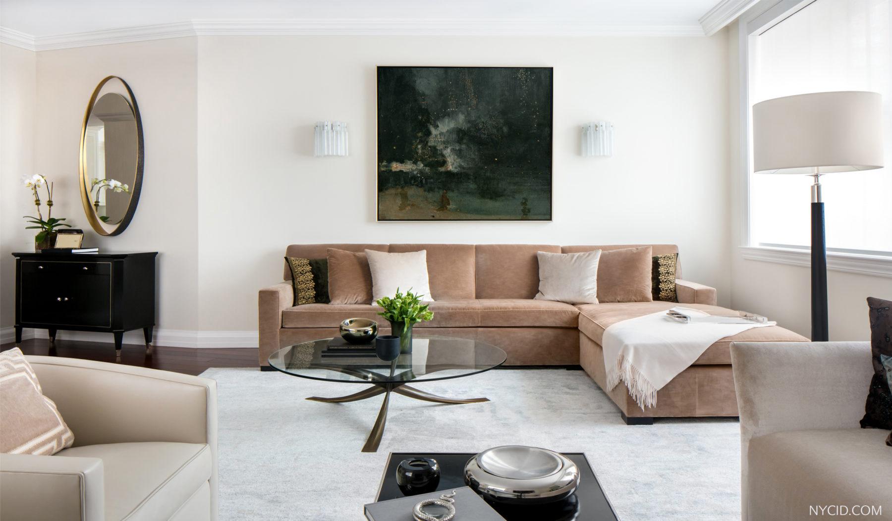 Upper West Side Landmark- Living Room