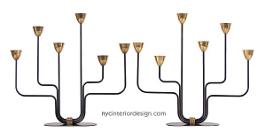 metal candelabra